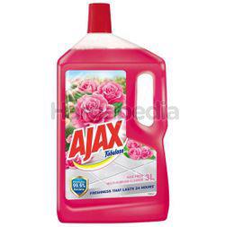 Ajax Fabuloso Floor Cleaner Rose Fresh 3lit