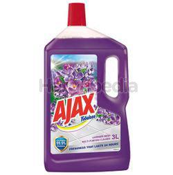 Ajax Fabuloso Floor Cleaner Lavender Fresh 3lit