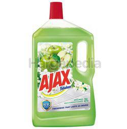 Ajax Fabuloso Floor Cleaner Apple Fresh 2lit