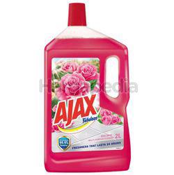 Ajax Fabuloso Floor Cleaner Rose Fresh 2lit