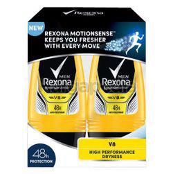 Rexona Men Deodorant Roll On V8 2x50ml