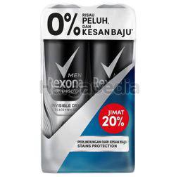 Rexona Men Deodorant Spray Invisible Dry 2x150ml