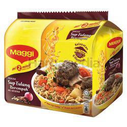 Maggi 2 minutes Noodle Sup Tulang 5x79gm