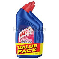 Harpic Active Cleaning Gel Wild Flower 2x500ml
