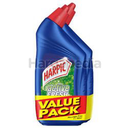 Harpic Active Cleaning Gel Mountain Pine 2x500ml