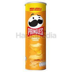 Pringles Potato Crisps Cheesy Cheese 107gm