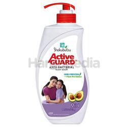 Shokubutsu Active Guard Anti-Bacterial Shower Foam Mild 925ml