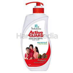 Shokubutsu Active Guard Anti-Bacterial Shower Foam Protect 925ml