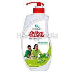 Shokubutsu Active Guard Anti-Bacterial Shower Foam Refresh 925ml