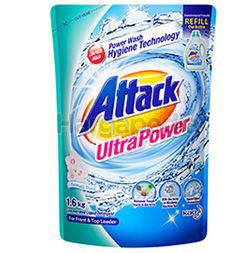 Attack Liquid Detergent Refill Ultra Power 1.6kg