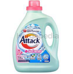 Attack Liquid Detergent Plus Softener 1.8kg