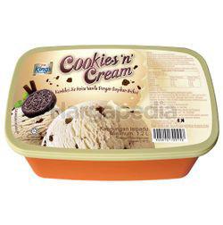 King's Ice Cream Cookies N Cream 1.2lit