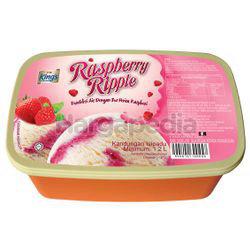 King's Ice Cream Raspberry Ripple 1.2lit
