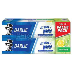Darlie All Shiny White Lime Mint Toothpaste 2x140gm