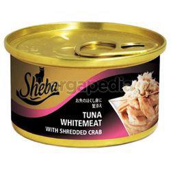 Sheba Cat Food Tuna Whitemeat with Shredded Crab 85gm