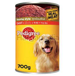 Pedigree Can Dog Food Beef 700gm