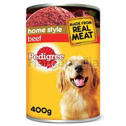 Pedigree Can Dog Food Beef 400gm