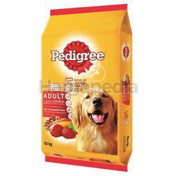 Pedigree Dry Dog Food Beef & Vegetable 10kg