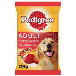 Pedigree Dry Dog Food Beef & Vegetable 20kg