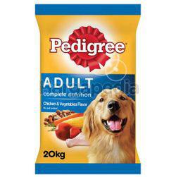 Pedigree Dry Dog Food Chicken & Vegetable 20kg