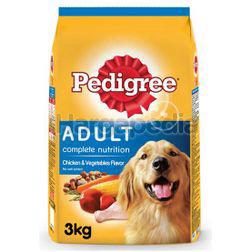Pedigree Dry Dog Food Chicken & Vegetable 3kg
