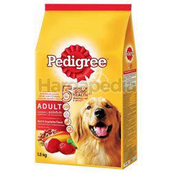 Pedigree Dry Dog Food Beef & Vegetable 1.5kg