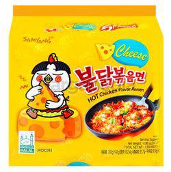 Samyang Hot Chicken Ramen Cheese 5x140gm