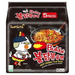 Samyang Buldak Hot Chicken Ramen Original 5x140gm