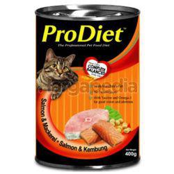Pro Diet Can Cat Food Salmon & Mackerel 400gm