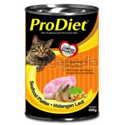 Pro Diet Can Cat Food Seafood Platter 400gm