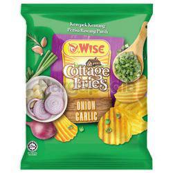 Wise Cottage Fries Potato Chips Onion Garlic 65gm