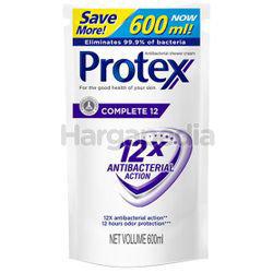 Protex Shower Cream Refill Complete 12 600ml