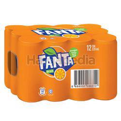 Fanta Can Orange 12x320ml