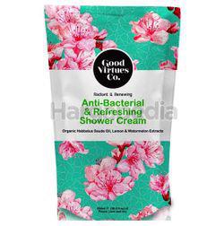 Good Virtues Co Anti Bacterial & Refreshing Shower Cream Refill 550ml