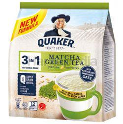 Quaker 3in1 Cereal Matcha Green Tea 12x28gm