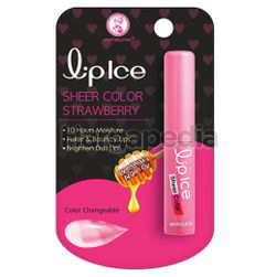 Lip Ice Sheer Color Lip Balm Strawberry 2gm