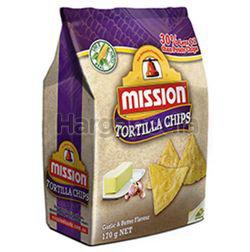 Mission Tortilla Chips Garlic & Butter 170gm