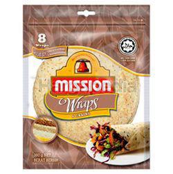 Mission Wraps 8 Wraps 6 Grains 360gm