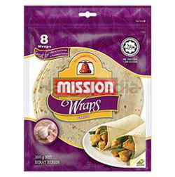 Mission Wraps 8 Wraps Garlic 360gm