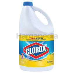 Clorox Bleach Lemon 4lit