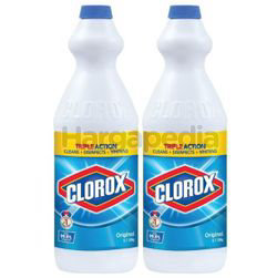 Clorox Bleach Original 2x1lit