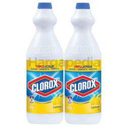 Clorox Bleach Lemon 2x1lit