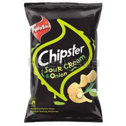 Twisties Chipster Sour Cream & Onion 160gm