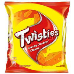 Twisties Snack Multipack Cheddar Cheese 8x15gm