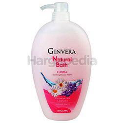 Ginvera Natural Bath Floral Shower Foam 1lit