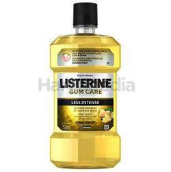 Listerine Gum Care Less Intense Herbal Ginger Mouth Rinse 750ml