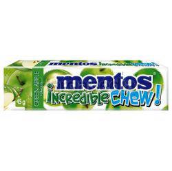 Mentos Incredible Chew Green Apple 45gm
