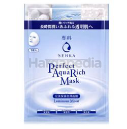 Senka Perfect Aqua Rich Luminous Moist Mask 1s