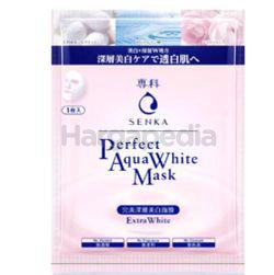 Senka Perfect Aqua White Mask Extra White 1s