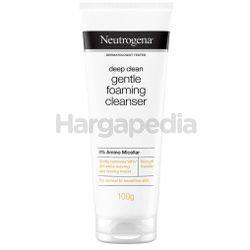 Neutrogena Deep Clean Gentle Foaming Cleanser 100gm